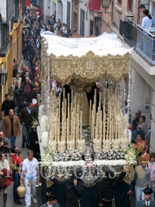 semana santa sevilla 2011. semana santa seville spain