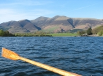 Rowing boat on Derwent Water