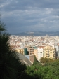 View over Barcelona, from the NAMC