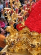 "Detail of a ""paso"", Semana Santa"